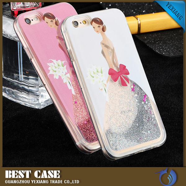 Stars Flowing Wedding dress design Phone Case Bling Glitter Skin Cover for Samsung Galaxy J1
