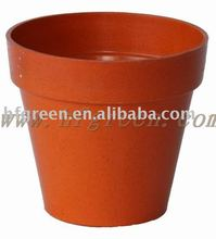 eco friendly biodegradable bamboo fiber flower pots