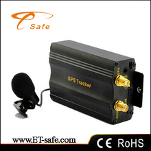Mini car Vehicle GPS Tracker with Cut off fuel / Stop engine / GSM SIM alarm