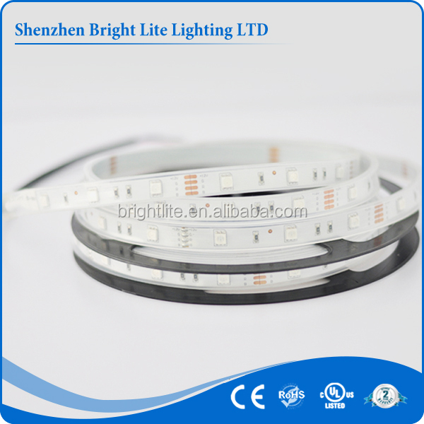 5050 Waterproof ip66 Blue color 30led UL certification battery powered led strip lights for cars