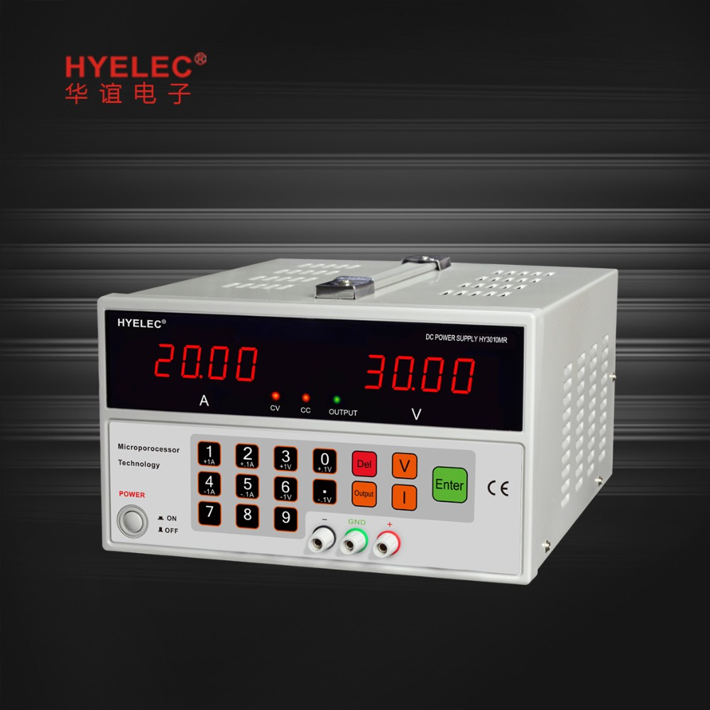 HYELEC HY3010MR programmable DC Power Supply 30V 10A