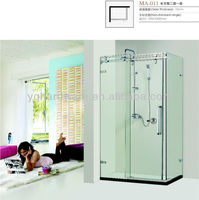 Glass partition shower room