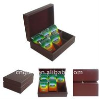 Wooden Tea Packing