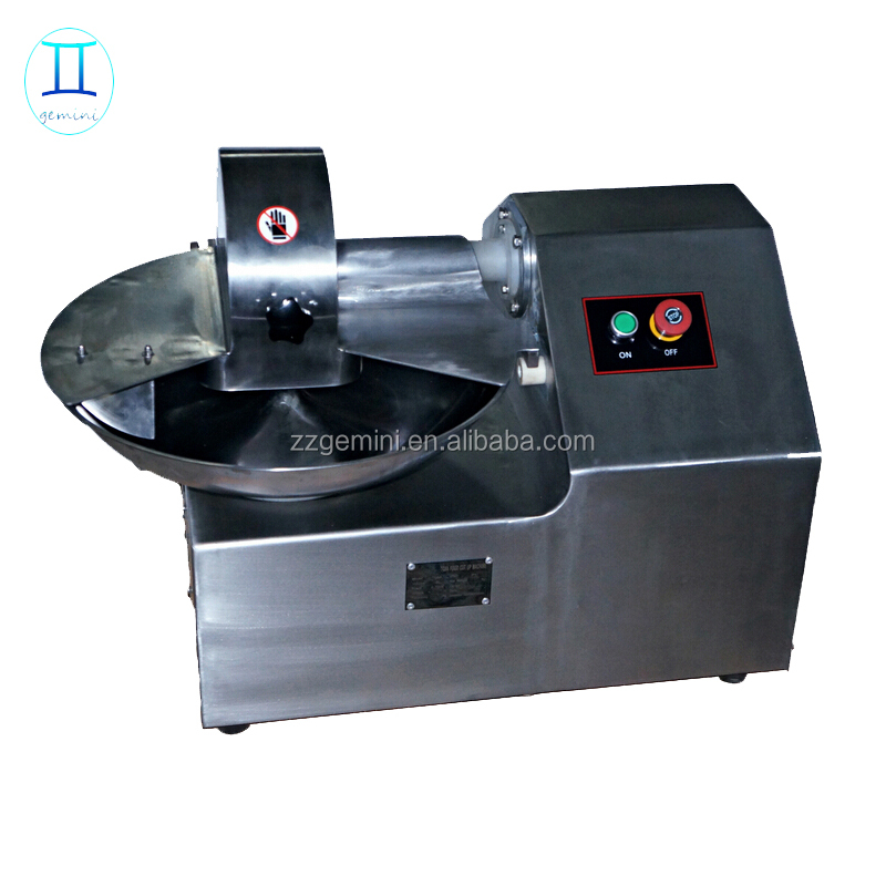 commercial used China professional supplier small meat bowl cutter