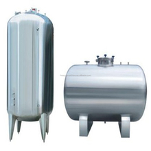 304 stainless steel tank with conical bottom/fuel tank