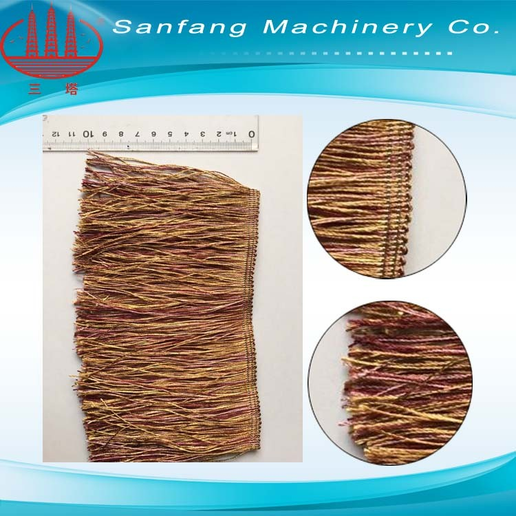 SGD 980 Polyester Feather Rough Yarn Making Machine
