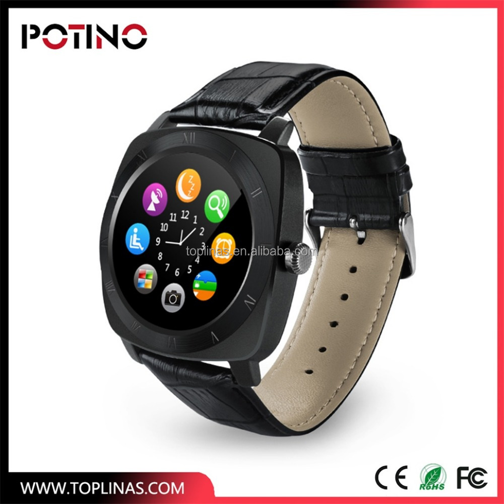 hand mobile phone watch with bluetooth T3