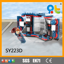 SY boy series heroes world diy toy robot building block toys for kids