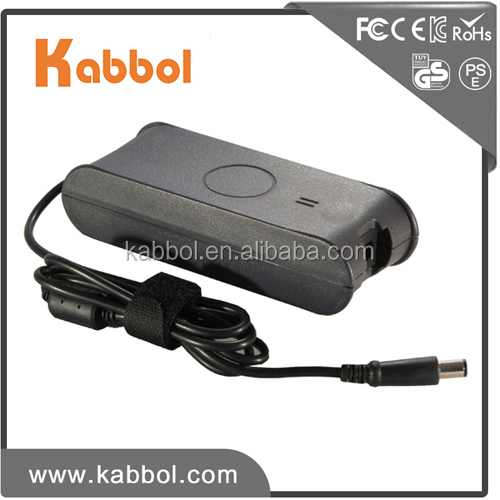 ac dc adapter prices 19.5v 4.62a 90w notebook charguer for Dell Computer 7.4*5.0mm