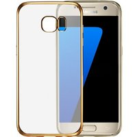 2016 Anti-Shock TPU Gel Rubber Flexible Transparent Back Plating Side Protective Case cover for Samsung Galaxy S7 Edge