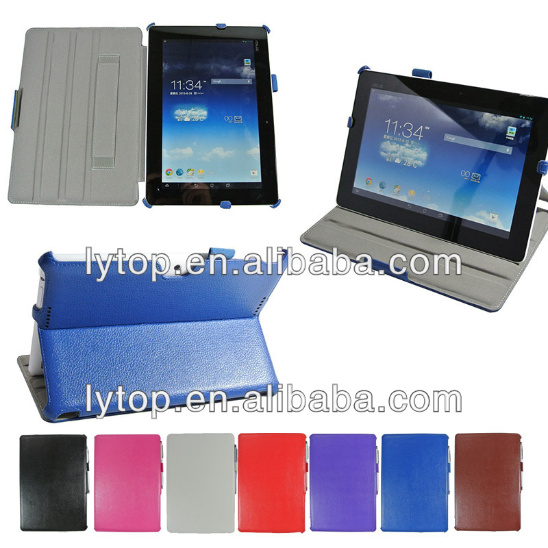 leather stand design tablet case for ASUS MeMO Pad FHD 10