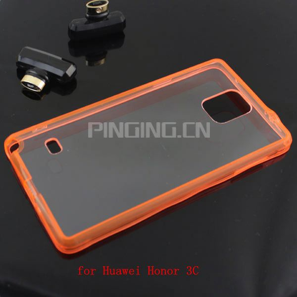 Wholesale high quality PC+TPU Gel case for Huawei Honor 3C phone case protective cover for Huawei Honor 3C