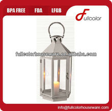new style stainless steel candle lantern