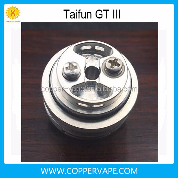 23mm October hot Taifun gt 3 High quality coppervape New taifun gt3 sell alibaba