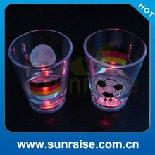 led whisky glass