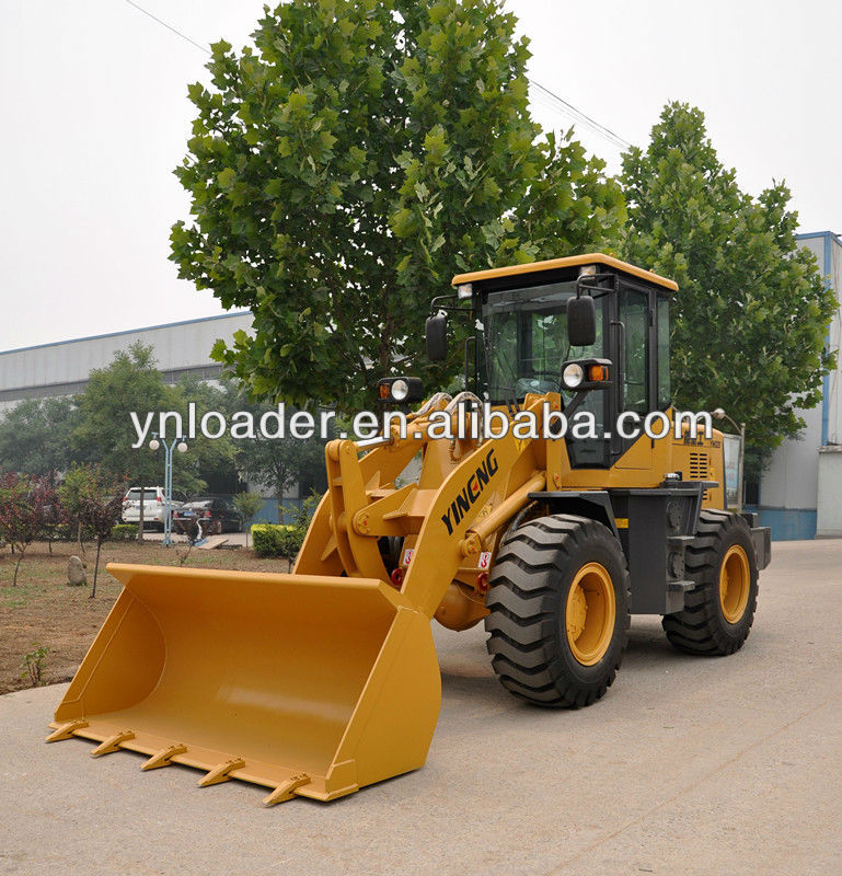 2018 China factory supply YN920 Wheel loader (Rated load 1.8 ton; Bucket capacity 0.9m3)with CE certification