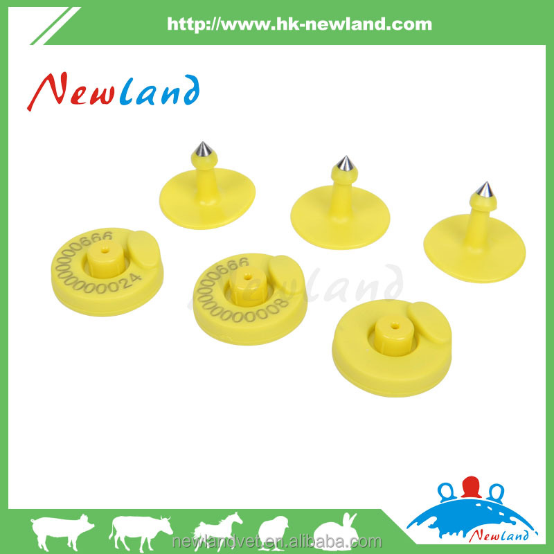 Rfid Hf/lf Animal Ear Tags For Cattle/cow /goat Tracking