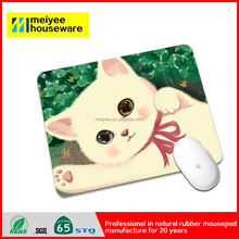 China factory price best quality adverting laptop stand printed natural rubber mouse pad