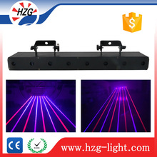 Indoor disco laser lights 8 Eyes Professional Stage Beams Laser Curtain portable stage curtains