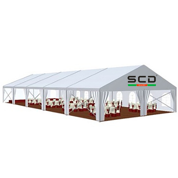 Outdoor Large Wedding Marquee 1000 People Capacity Outdoor Events Tent