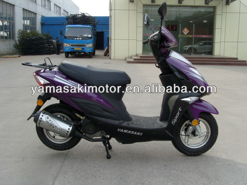 best selling eec gas scooter,50cc petro scooter with eec, yamasaki brand