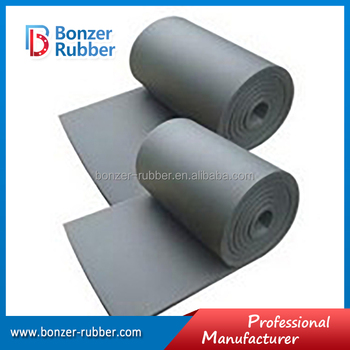 Nanjing Bonzer black CR/NBR/Viton rubber sheeting