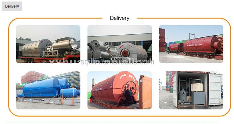 2015 hot sale new design good profitable waste tyre pyrolysis equipment