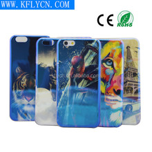 batman/superman design mobile cover tpu case for apple iphone