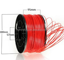 2016 new arrival heating pla abs 3d plastic filament 1.75 3mm for 3d printer