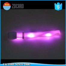 Led light wristband custom available flashlight bracelets for party and festival