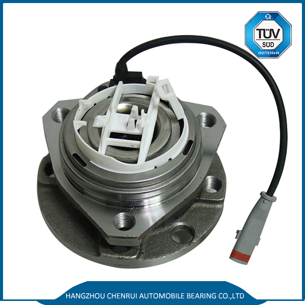 VKBA3650 Front Wheel Hub and Bearing Assembly with Wheel Speed Sensor for OPEL ASTRA