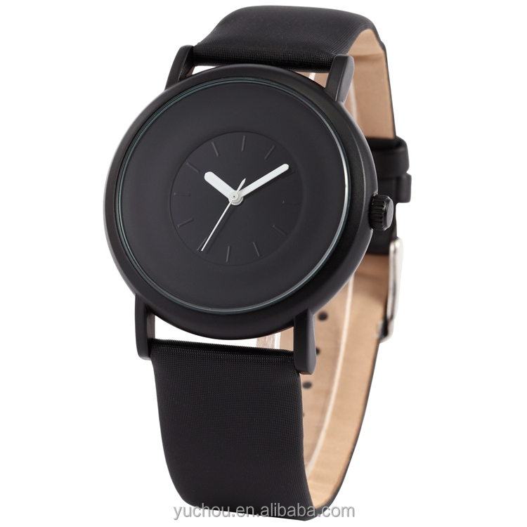 CE Certified sinobi quartz leather wrist watches With Long-term Service