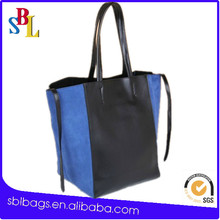 Long shop tote shopping bag&screen printing shopping bags&plain shopping bag