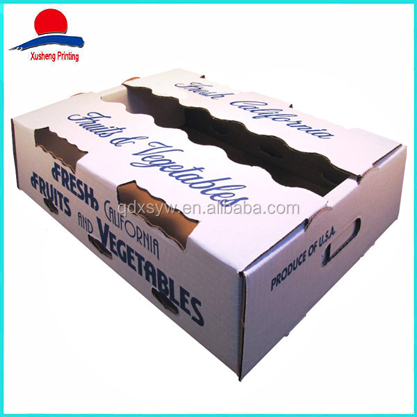 Chinese Food Fresh Fruit And Vegetable Packaging Box