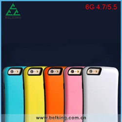 For iPhone 6 Plastic iFace Case, Candy Color Stander PC iFace For iPhone 6