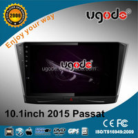 U9 platform 10.1 inch radio navigation system for VW Passat B7 with canbus