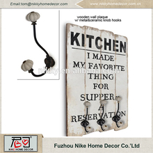 """I MADE MY FAVORITE THING FOR SUPER HANGING WALL HOOK , A RESERVATION"" INTERESTING FANCY KITCHEN WOOD DECOR"