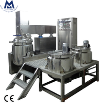 Mic 100L Factory price vacuum high shear homogenizing emulsifier mixer for cosmetic cream