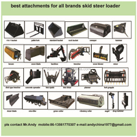 skid loader attachments,bobcat attachments