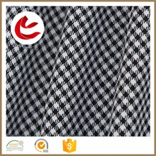 wholesale stocklot 144*65 polyester DTY Gingham Check Fabric Wholesale with low price