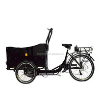 "26"" Front loading big heavy three wheel vending tricycle"