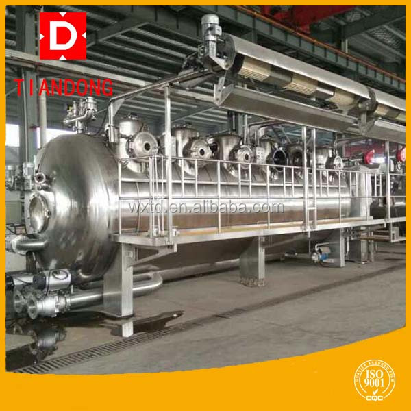 Hot sale textile dyeing machine for dying clothes washing machine with engineers overseas service