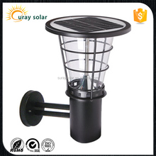 For garden or outside of house Waterproof IP65 solar light with motion sensor battery