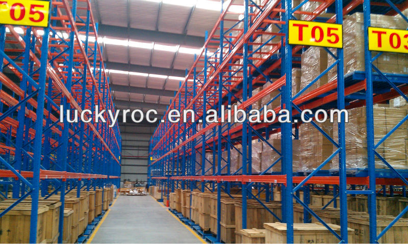 Heavy duty logistic automatic racking system
