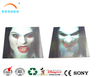 3D printing supplier morph change effect small gifts cards for Happy Halloween