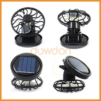 Mini Portable Clip-on Solar Powered Outdoor Cell Fan