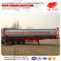 Cheap price 40ft ISO tank container transport vehicle