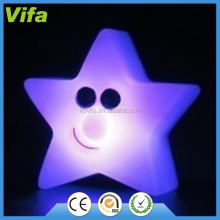 five-pointed star seven color changing led light