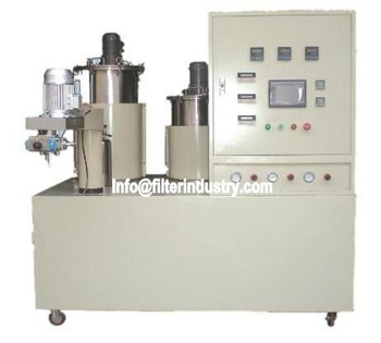 Auto Air filters PU machine manufacturer