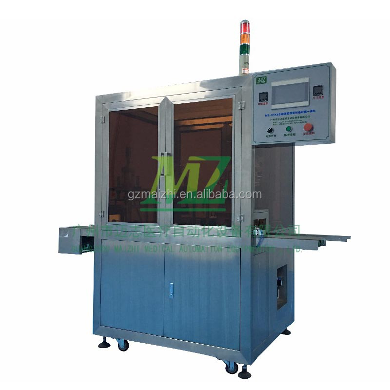Manufacturer supplier Aluminum Foil Film Feeding and Sealing Machine of Blood Typing Card
